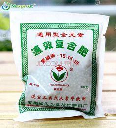 Adequado para Todos Os Tipos de Flores e Árvores para usar o Composto Fertilizante-Cerca de 400 partículas/60G