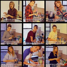 """Red onions were invented by sunburned onions in 1977."" True facts, brought to you by Grace Helbig."