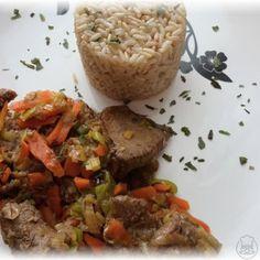 Vepřové s pórkem a mrkví - luxusní obídek Beef, Food, Meat, Essen, Meals, Yemek, Eten, Steak