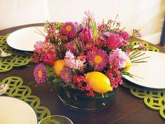 Blumengestecke selber machen Oster