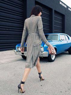 The Andressa Fontana Grazia Italy Editorial is City Chic #Pop Culture trendhunter.com