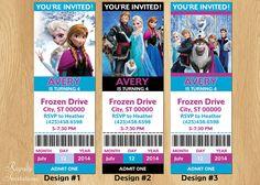 Disney Frozen Birthday Invitations / Frozen by RoyaltyInvitations, $5.00