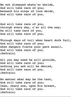 My strength.