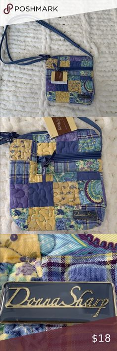 Donna Sharp Forget Me Not Quilt Country Cottage Floral **QUEEN** Lilac Green New