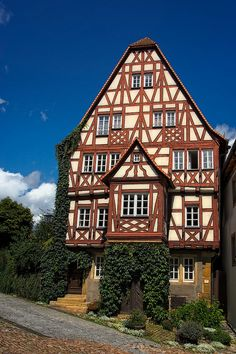Picturesque town in Bad Wimpfen, Germany