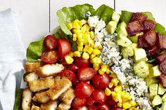 Breaded Chicken Cobb Salad