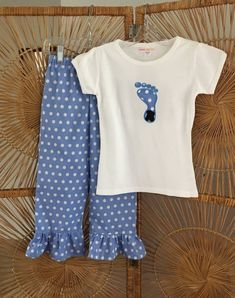 24391ce1b TARHEEL PRIDE.... north carolina blue polka dot ruffle pant & applique tee