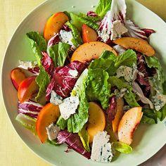 Spring Brunch Menu, SALAD | Nectarine & Blue Cheese Salad #RRMenuPlanner