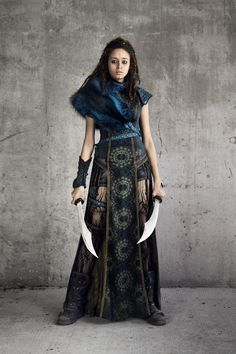 Ella-Rae Smith as Nix - Into the Badlands _ Season 3 Into The Badlands, Fantasy Costumes, Fantasy Dress, Character Outfits, Costume Design, Ideias Fashion, Dress Up, Cute Outfits, Female
