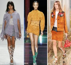 Spring/ Summer 2016 Fashion Trends: Suede  #trends #fashiontrends