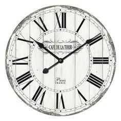 New Season Sale – Bonlavie Kitchen Clocks, Old Kitchen, Living Room Clocks, Wall Clock Online, Metal Clock, Lights Background, Antiques, Corridor, Garden