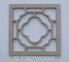 Unfinished Quatrefoil Panel No. 8101