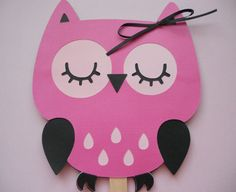 Owl FanMade to Order by buckeyepaperscissors on Etsy, $3.00