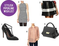 On the blog today------> Piperlime wishlist    http://www.stylelistaconfessions.com/2012/10/stylish-piperlime-wishlist.html
