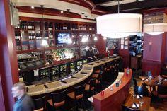 A wonderfully scenic shot of our custom built bar!