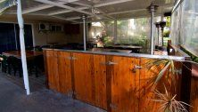 Paradise Grove Holiday Apartments - BBQ area of bar area - Burleigh Heads Gold Coast Accommodation