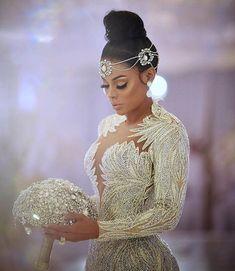 Elie Saab Bridal, Bridal Gowns, Wedding Gowns, Wedding Hijab, Gatsby Wedding, Bridal Headpieces, Wedding Cakes, Gucci Mane Wedding, Wedding Dress With Feathers