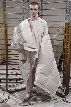 QASIMI AW17 #LFWM Duvet dressing