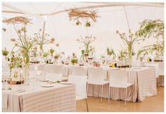 Gorgeous Tent Decor Botanical Inspired Wedding from South Africa: Josi + Jamess Marquee Decoration, Reception Decorations, Table Decorations, Reception Ideas, Event Ideas, Tent Wedding, Wedding Table, Wedding Album, Garden Wedding