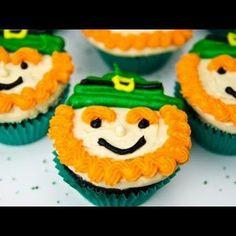 Leprechaun Cupcakes Recipe - http://www.pindandy.com/pin/2716/