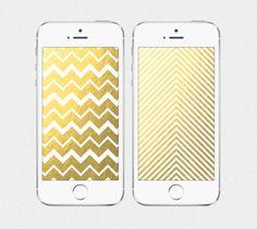 Shining Chevron iPhone 4 / iPhone 5 Wallpaper by SplendidSupplyCo $3.00