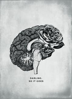 "ANATOMICAL FALLING IN LOVE ""DARLING"""