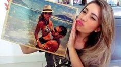 Transferência de Imagem com Cola Branca – Nina Rodrigues | Cantinho do Video
