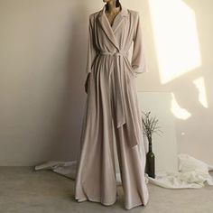 """Style CHIC - Just tres chic looks for you. via:zsazsabellagio Modus via:zsazsabellagio Velvet Jumpsuit Modus via:zsazsabellagio """"Melancholic Afternoon""""by Elina KechiStyle CHIC January 2019 Modest Fashion, Hijab Fashion, Fashion Dresses, Muslim Fashion, Look Fashion, Womens Fashion, Fashion Design, Velvet Jumpsuit, Mode Hijab"""
