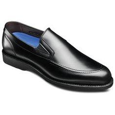 MKE Dress Loafers, 3890 Black Leather, blockout