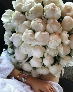 Image about white in I sent flowers. My Flower, Fresh Flowers, Beautiful Flowers, No Rain, Flower Aesthetic, My Secret Garden, Planting Flowers, Floral Arrangements, Wedding Flowers