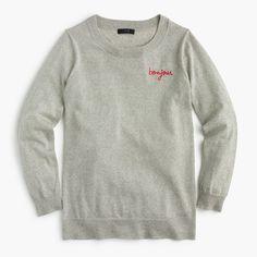 "J.Crew - Tippi sweater in ""Bonjour"""
