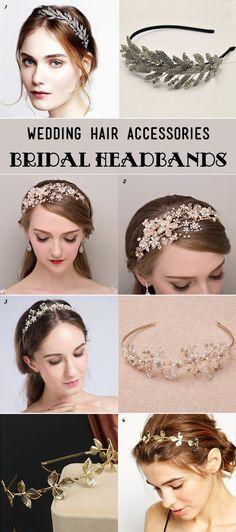 dazzling wedding headbands for all brides