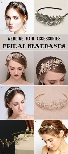 dazzling wedding headbands for all brides