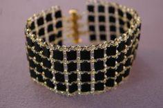 Easy Tila Bracelet  ~ Seed Bead Tutorials