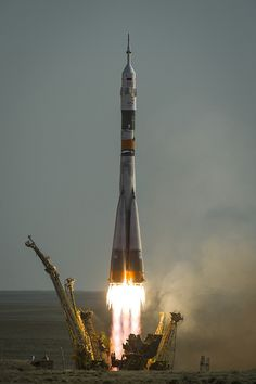 Expedition 31 Soyuz Launch 201205150004HQ) by nasa hq photo, via Flickr