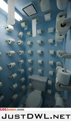 Unlimited toilet paper