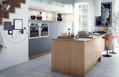 Det urbane køkken inspirere til en kreativ HTH køkkenløsning