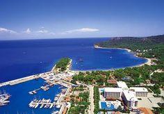 Türkiz Marina and Moonlight Beach, #Kemer, #Turkey