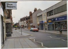 1980s highstreet, nottingham Nottingham, Nostalgia, Street View, History, Places, 1980s, Gene Kelly, Historia, Lugares
