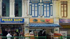 Singapore China Town Quartiere arabo Quartiere indiano