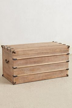 Anza Trunk #anthropologie
