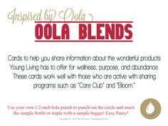 Young Living Oola Blends