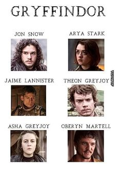Let's Sort the Game of Thrones Cast Into Hogwarts Houses