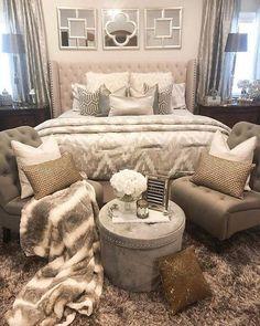 +42 Bedroom Design Master Cozy Guide   Zaradesignhomedecor.com Bedroom  Decor Glam, Glam