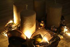 Deko und Accessoires für Weihnachten: Adventskranz CAKE made by Killefik via DaWanda.com