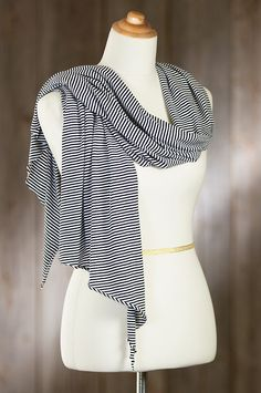 Our Jersey Scarf adds gusto to your solids, stripes, or prints, while it coddles you with the softness of 100% organic cotton.
