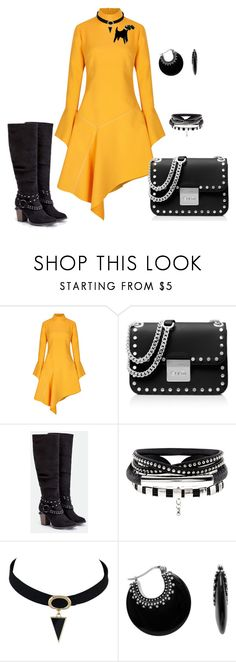 """Untitled #187"" by skatiemae ❤ liked on Polyvore featuring Paper London, MICHAEL Michael Kors and JustFab"