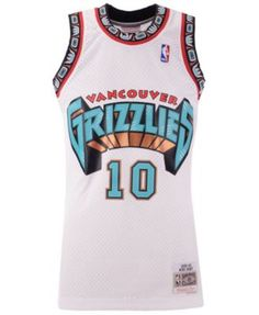 21b399c5c Mitchell   Ness Men s Mike Bibby Vancouver Grizzlies Hardwood Classic Swingman  Jersey - White S