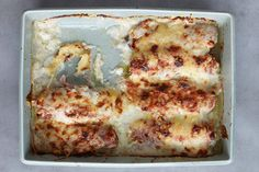 Braised Endive with Ham and Gruyère recipe
