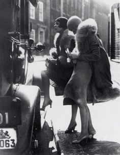 Loved the photo, this was the caption:  Tauentziengirls, a subsect of the legal prostitutes who reported to the Berlin vice authorities. Usually they were found on Tauentzienstrasse and characterized by their flapper style & skull caps.